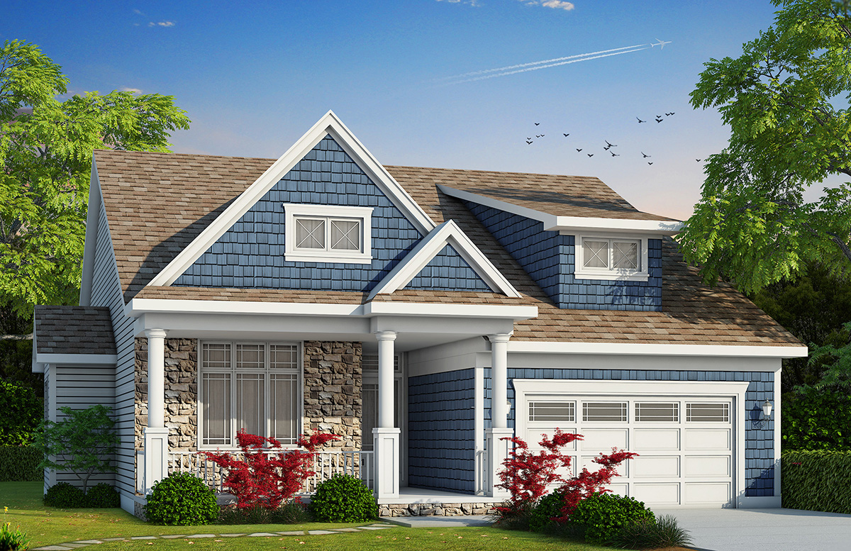 3 Bed Cottage House Plan  42371DB  Architectural Designs  House Plans