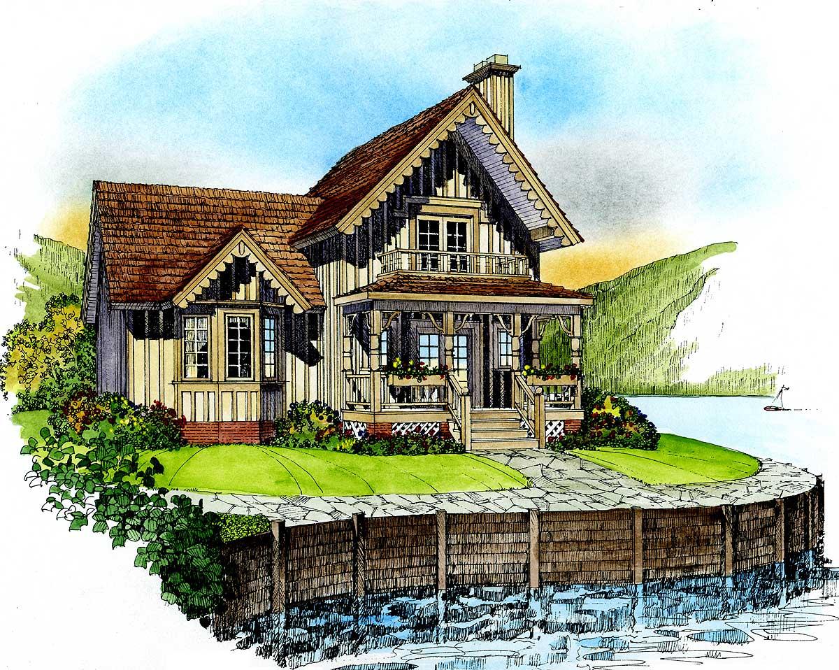 Quaint Cottage - 43018pf 1st Floor Master Suite