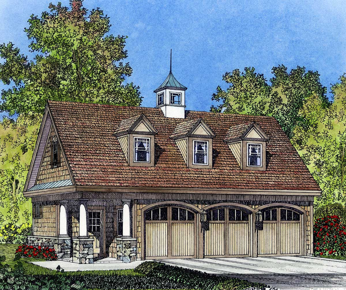 Victorian Carriage House Design Plans