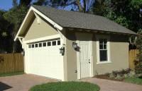 Craftsman Style Detached Garage Plan - 44080TD ...