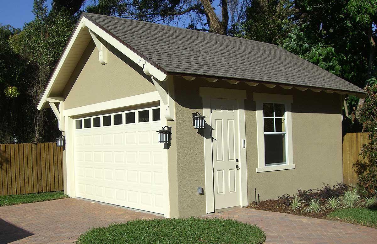 Craftsman Style Detached Garage Plan  44080TD  Architectural Designs  House Plans