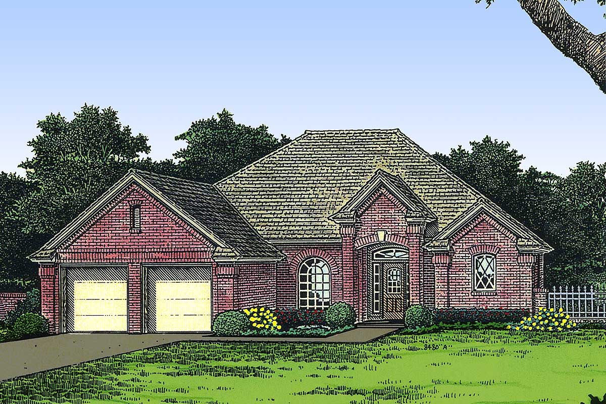 Petite European House Plan - 48146fm Architectural