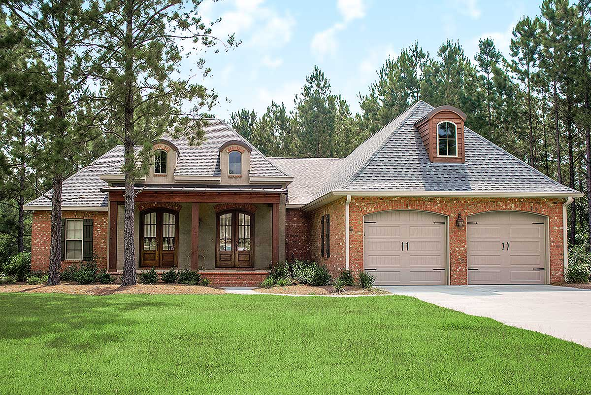 Spacious 4 Bed Acadian House Plan - 51700hz