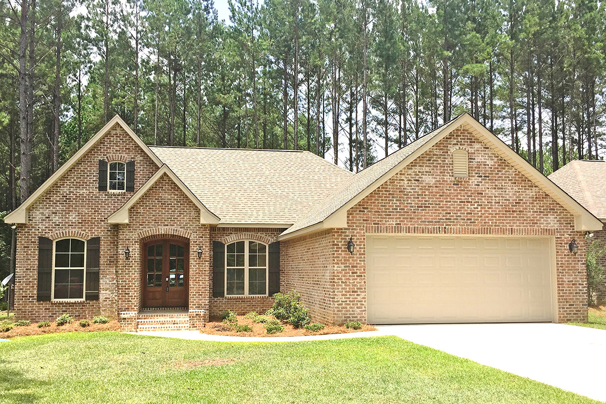 Brick Traditional House Plan - 51723hz Architectural