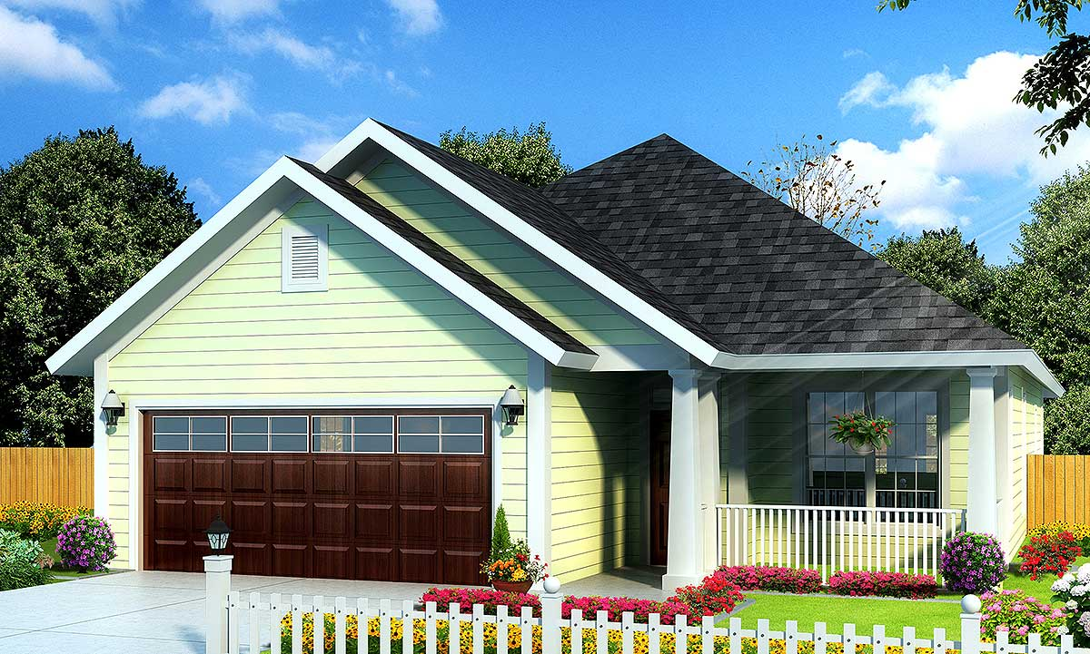 Perfect Cottage Home Plan  52211WM  Architectural