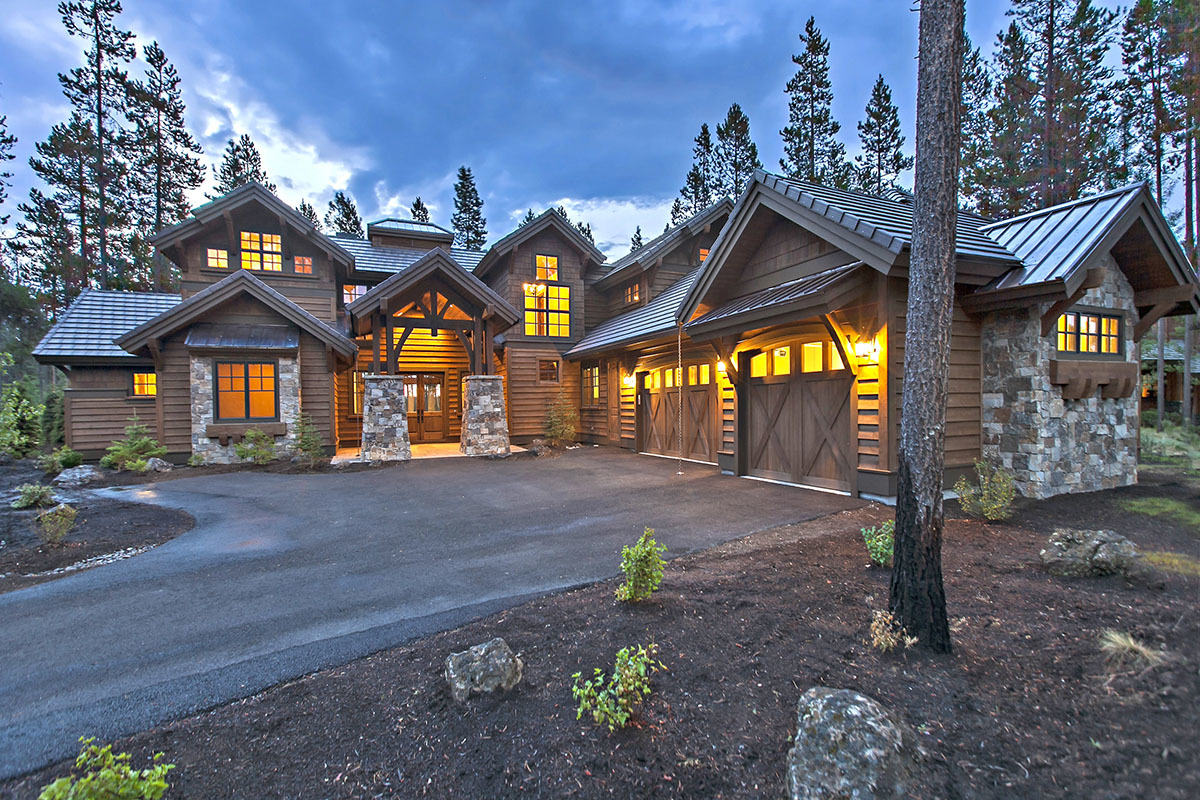 Mountain Home Plans Designs