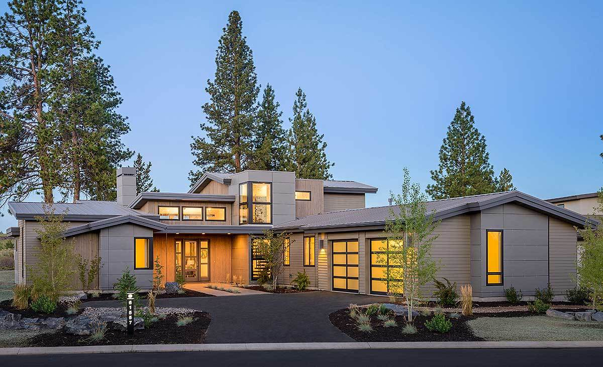 Contemporary House Plans - Architectural Designs