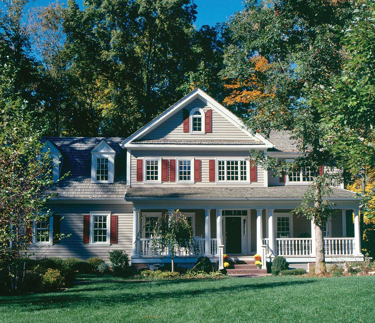 Classic American Home House Plans