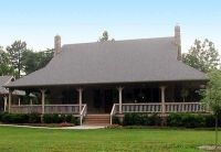Complete Wrap-Around Porch - 58296SV   Architectural ...