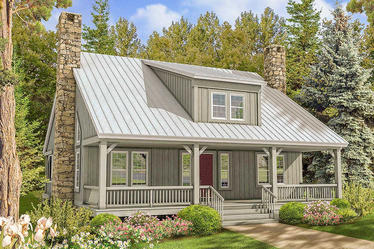 Big House Plans with Front Porch