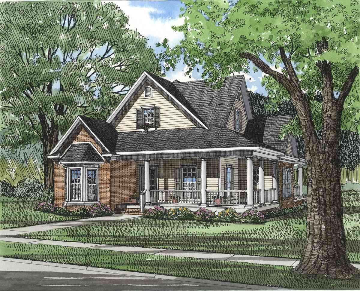 Southern Traditional 5903ND Architectural Designs