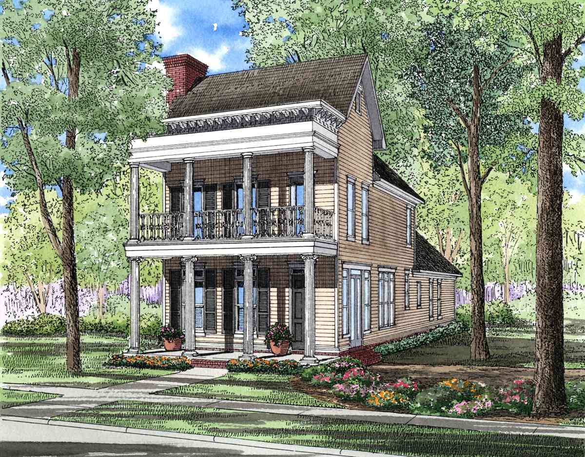 Charleston Style House Plans for Homes