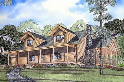 Country Retreat 5998nd Architectural Designs House Plans