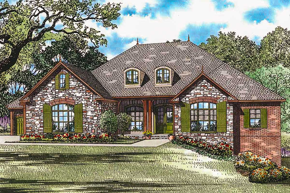 European Country House Plans