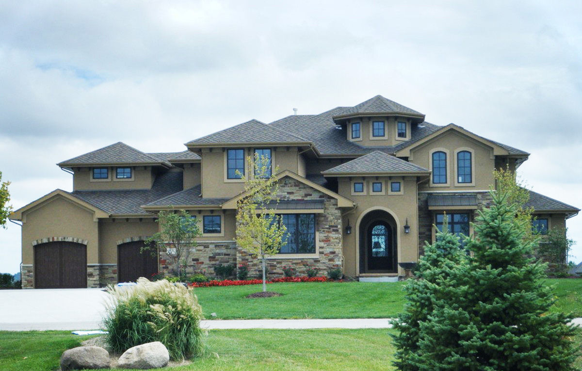 5 Bed Luxury Italianate House Plan 62496dj