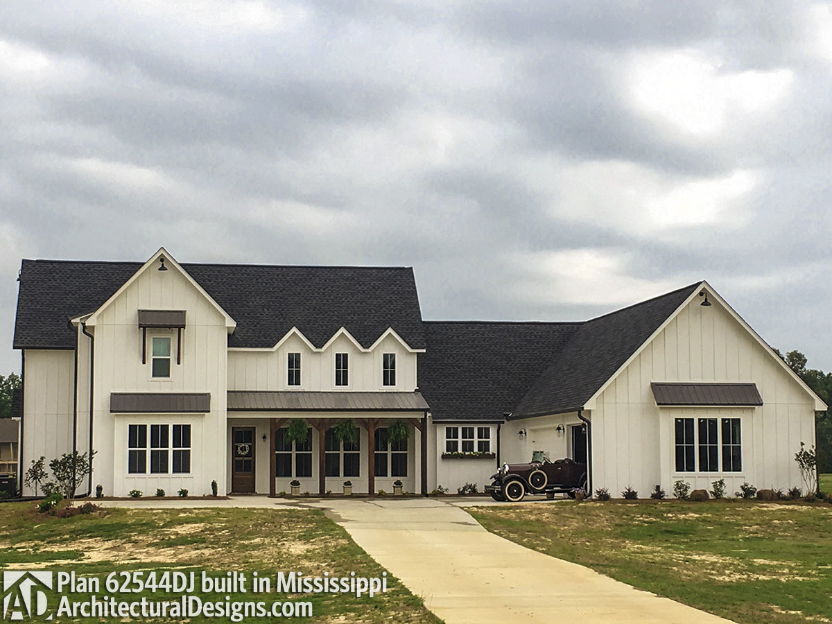 Modern Farmhouse Plan 62544dj Life In Mississippi