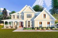 Victorian Farmhouse Plan with Grand Wraparound Porch ...