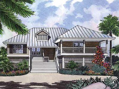A Key West Cutie 6376hd Architectural Designs House