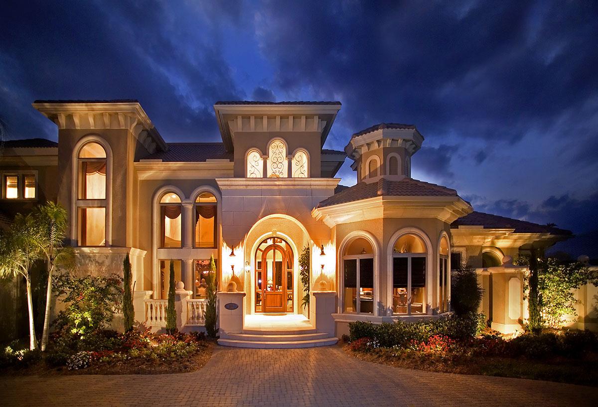 Luxury Spanish Mediterranean House Plans