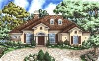 Chateau Style Home Plan - 66168GW | Architectural Designs ...