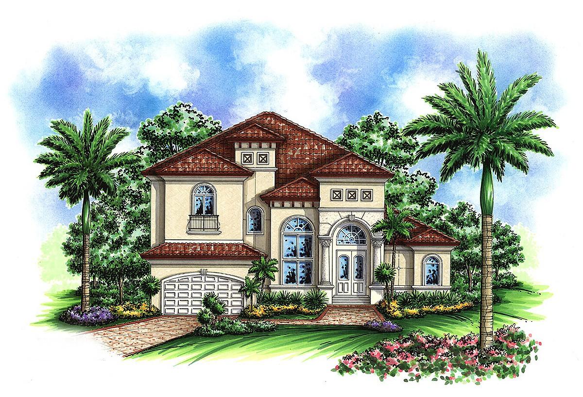 Small Mediterranean House Plans