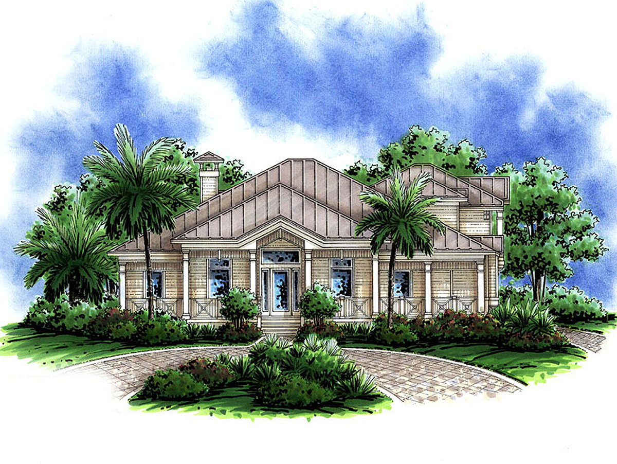 Florida Style Home Floor Plans