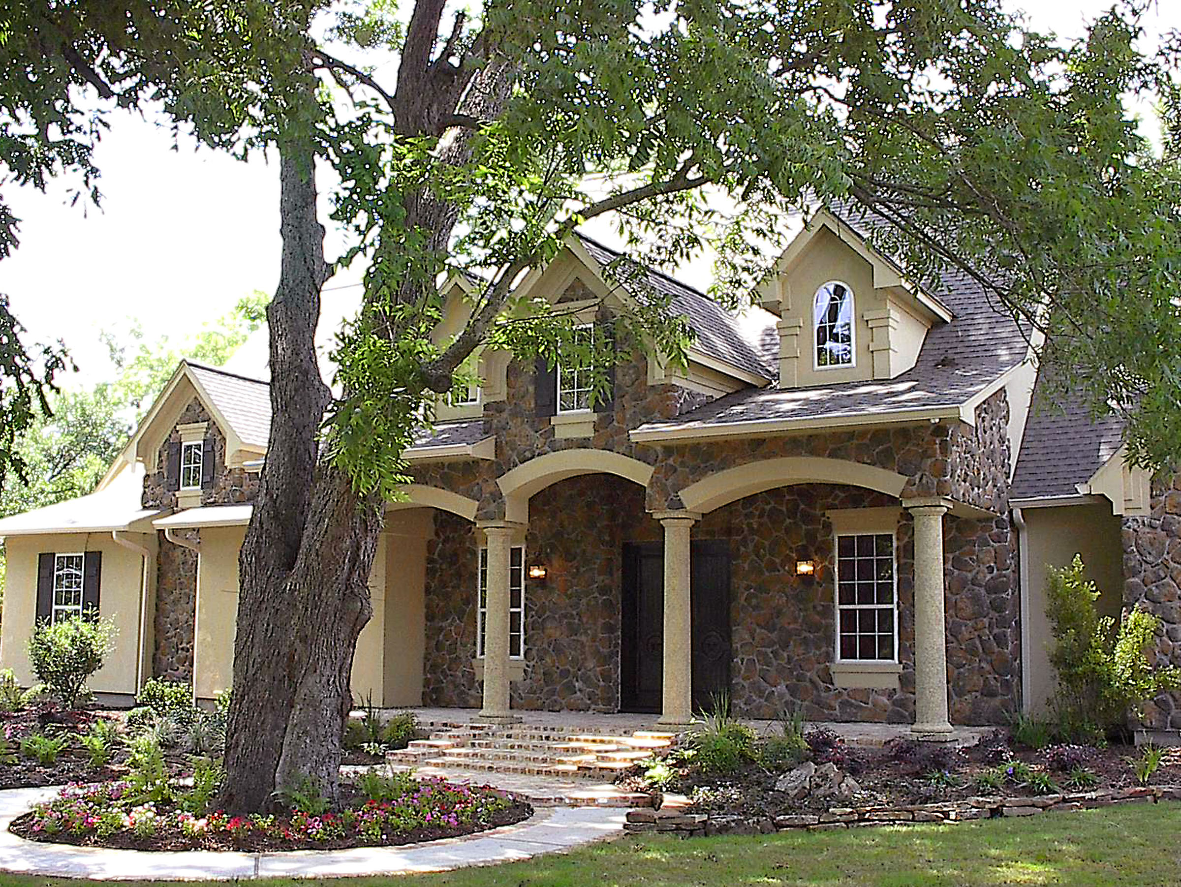 Country Estate Home Plans