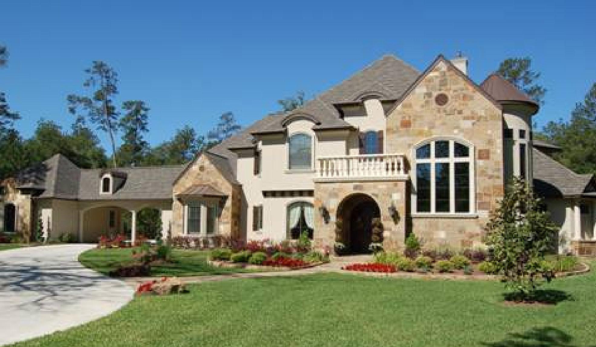 Impressive French Country Estate - 67116gl Architectural