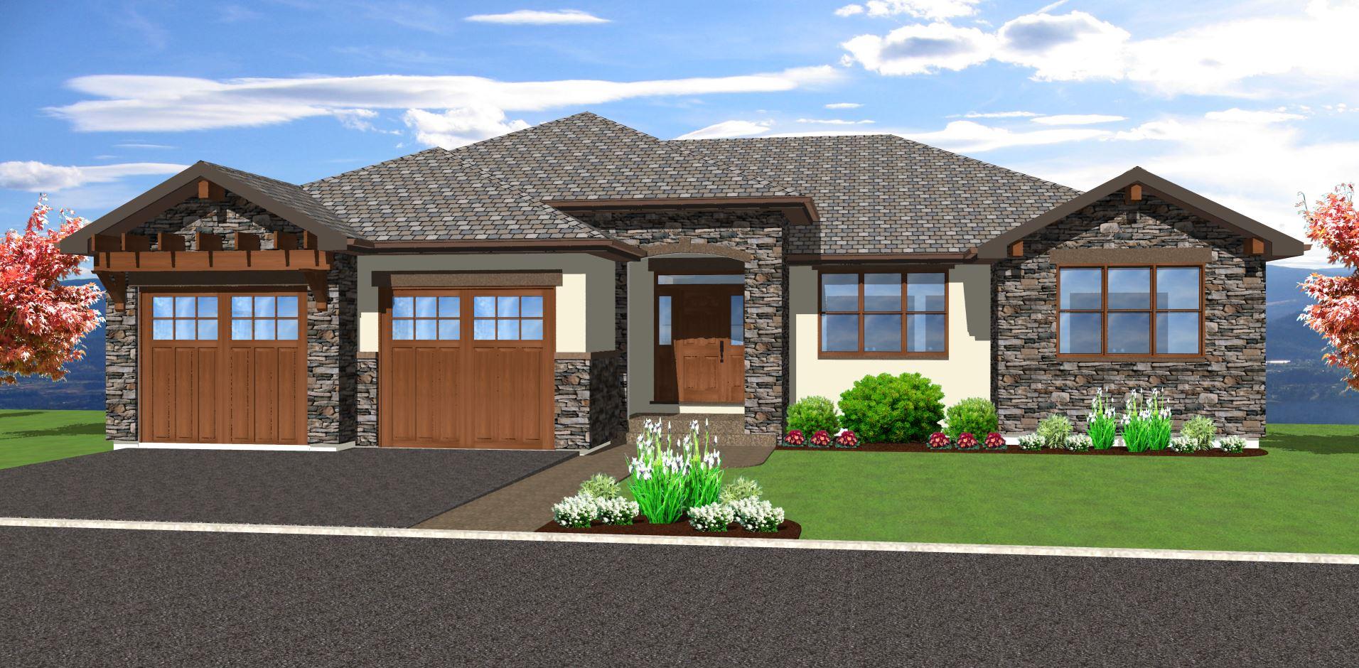 Hillside House Plans with Walkout Basement