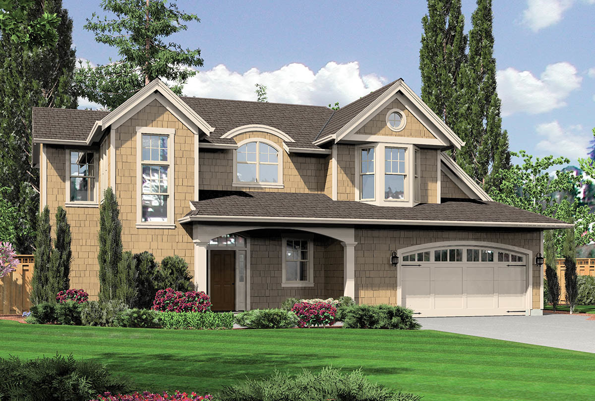 Reverse Two-Story House Plans