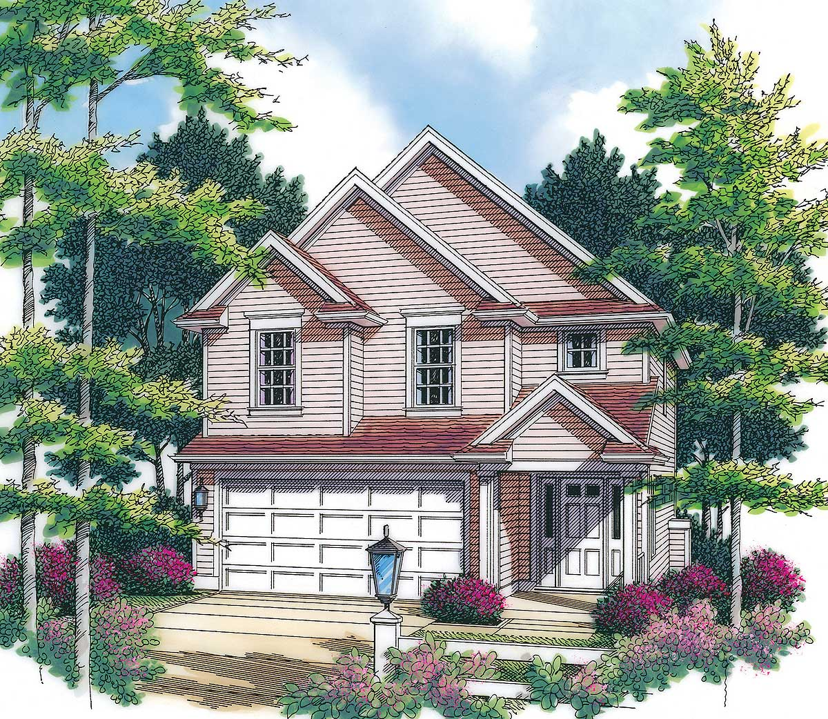 Narrow Lot Cottage House Plans