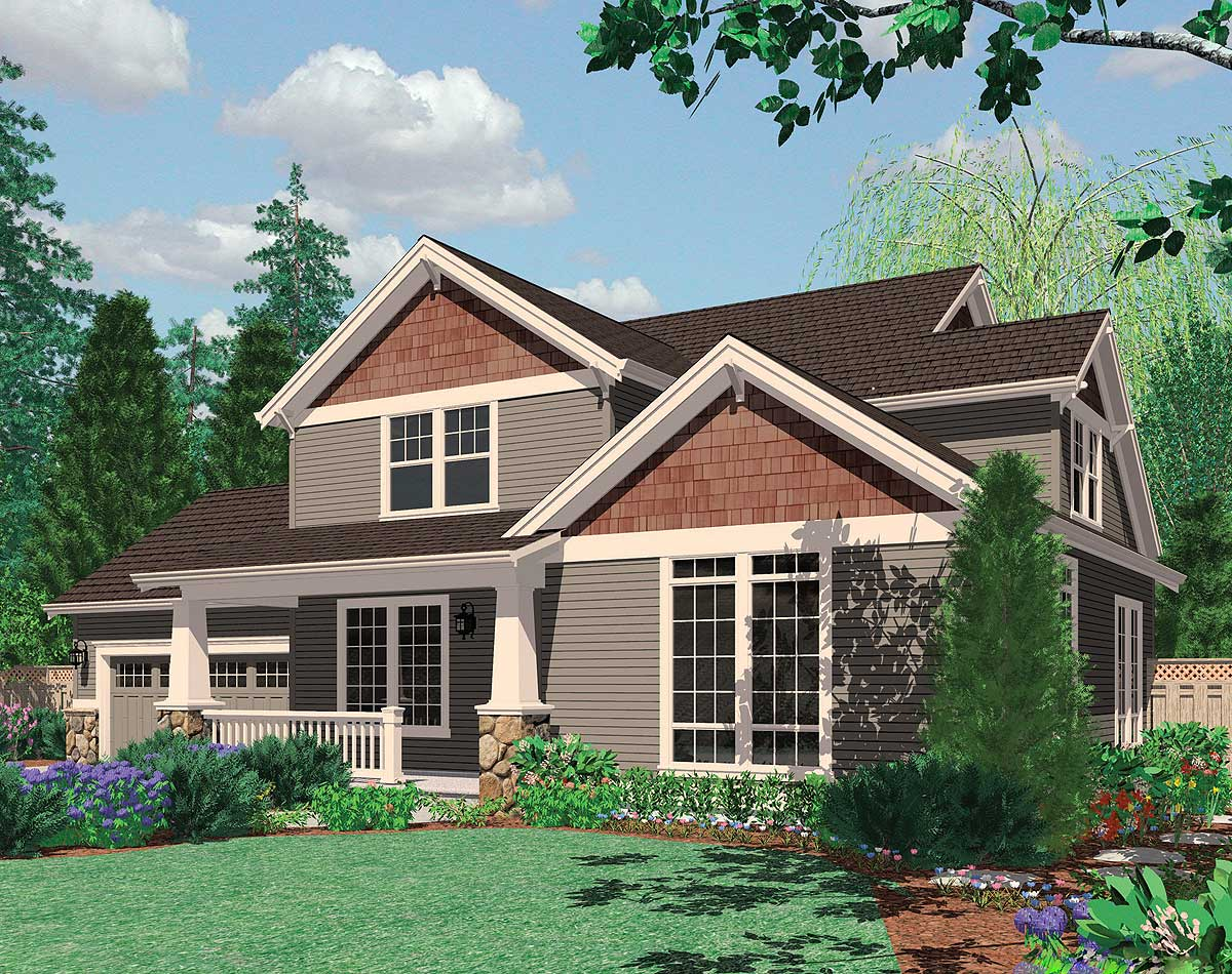 Great Family Craftsman Home Plan - 69045am 2nd Floor