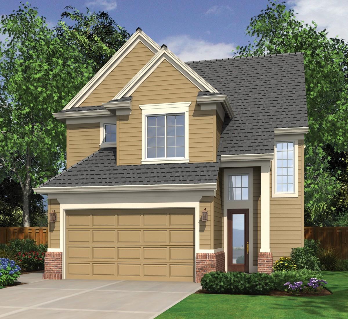Open Living Area - 6905am Architectural Design House
