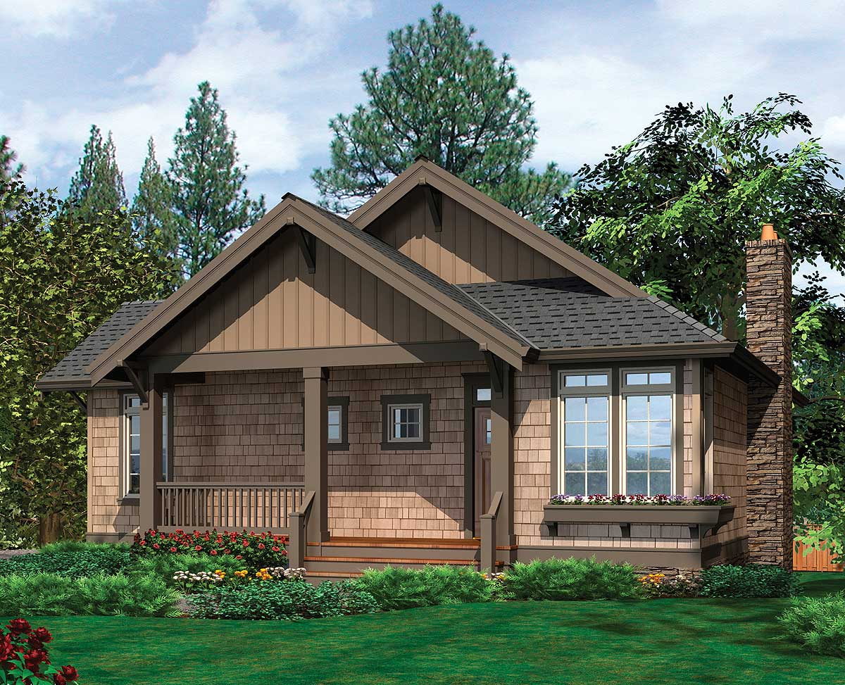 Cottage With Airy Vaulted Ceiling - 69083am