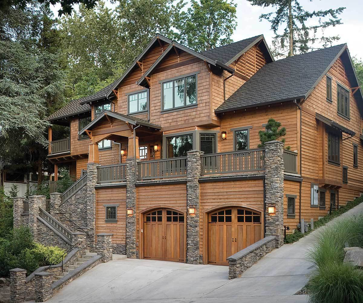 Three Level Plan With Warmth And Elegance - 69144am