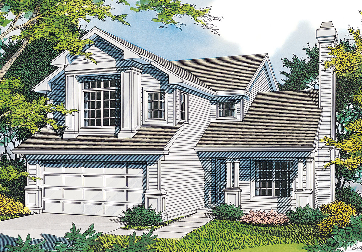 Small Family Home With Luxurious Master 69276am