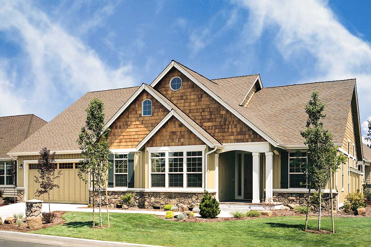 Charming Country Craftsman House Plan - 6930am