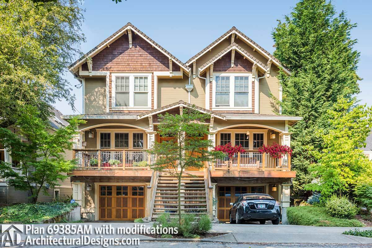 MultiFamily House Plans  Architectural Designs