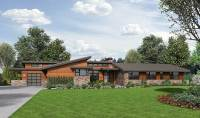 Stunning Contemporary Ranch Home Plan - 69510AM ...