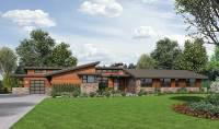 contemporary ranch home plans