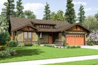 Rustic Craftsman Home Plan - 69521AM | Architectural ...