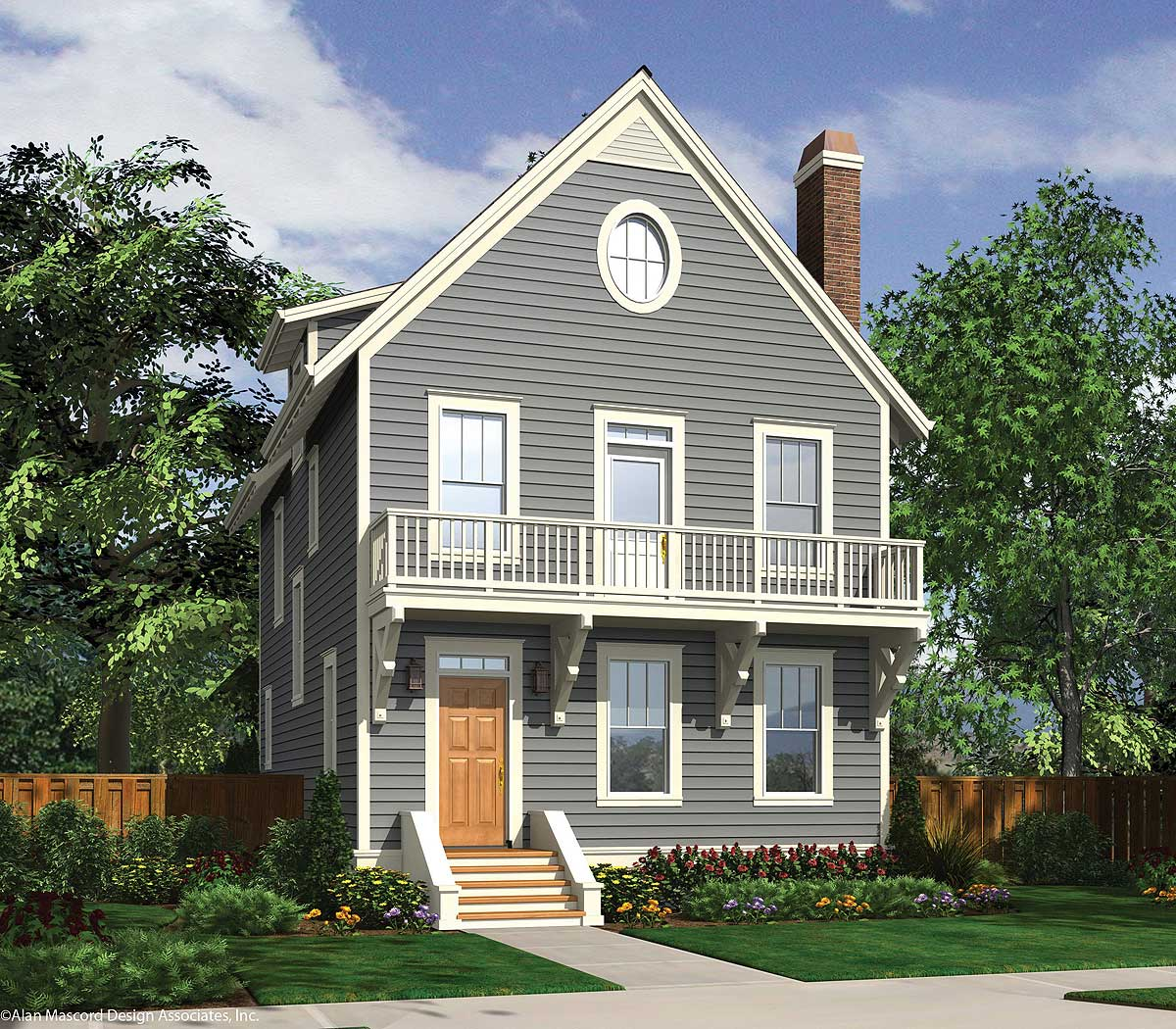 3-Story House Plans