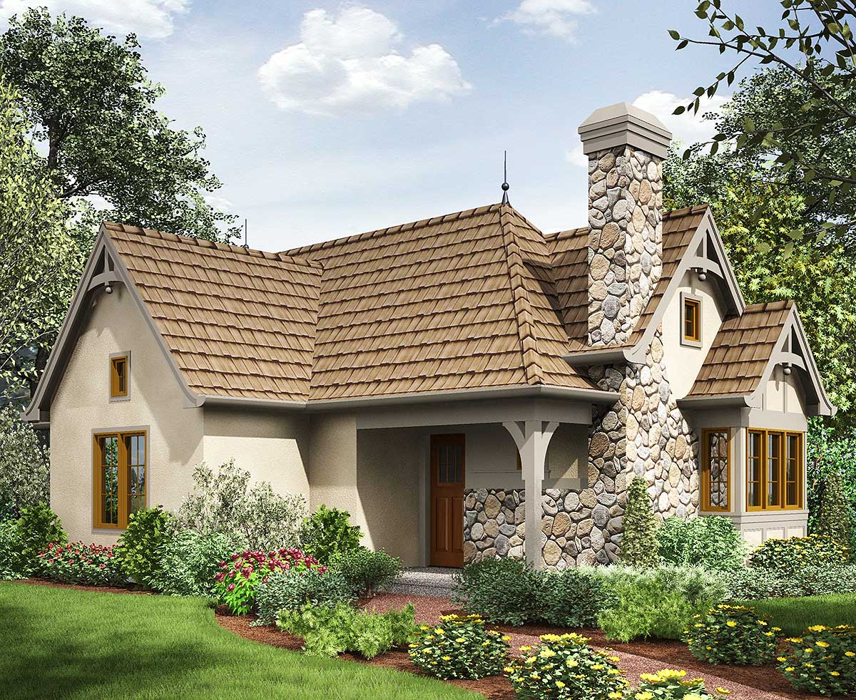 European Small Cottage House Plans