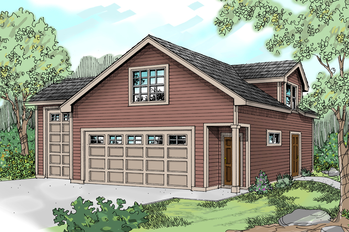 Carriage House With RV Parking - 72796DA