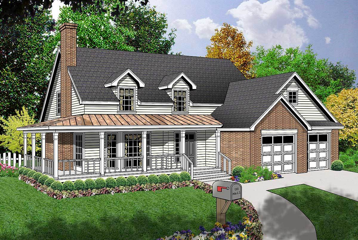 Charming Country Design - 74052rd Architectural