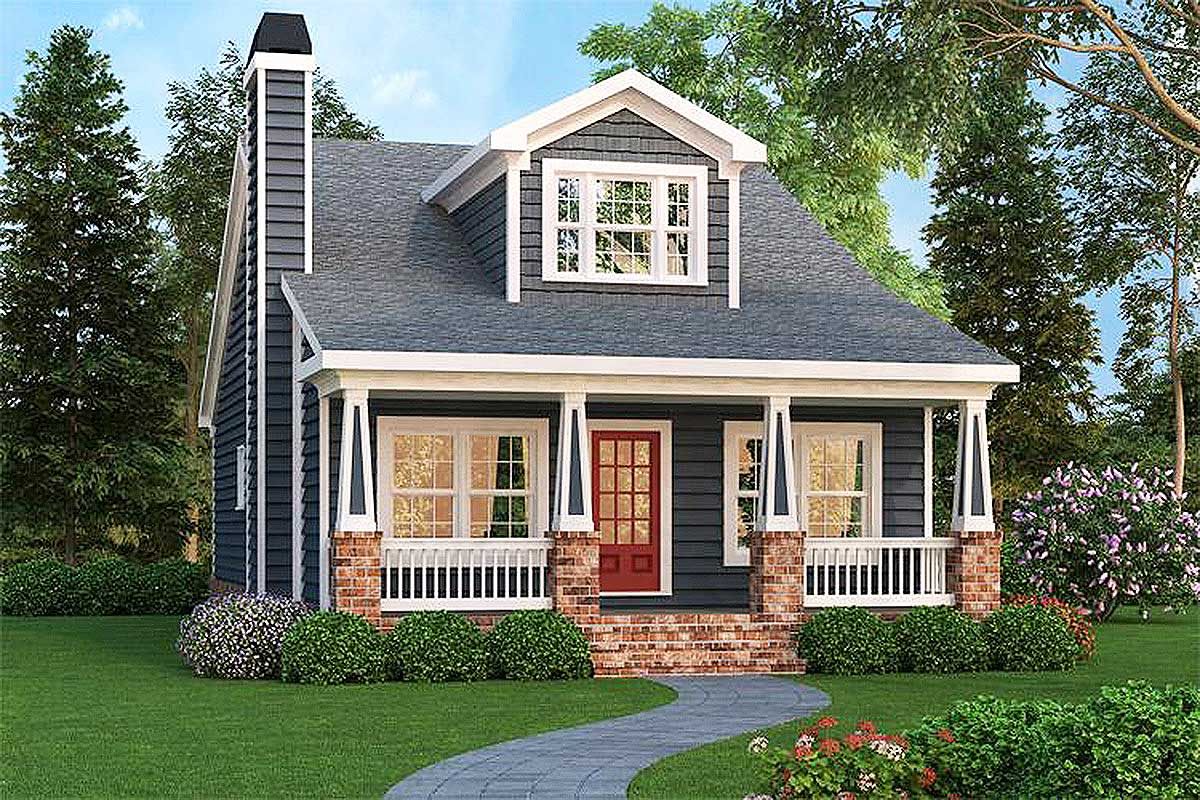 Craftsman Bungalow With Optional Bonus - 75499gb
