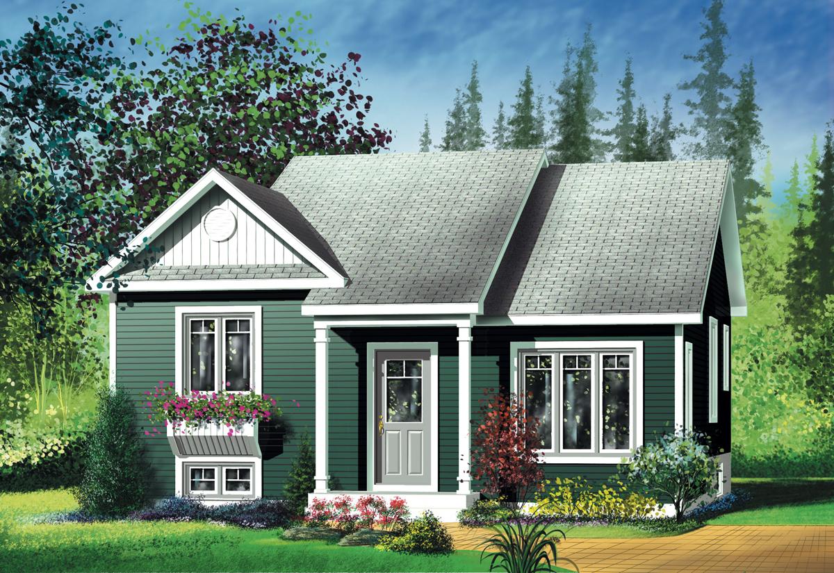 Small Split-Level House Plans