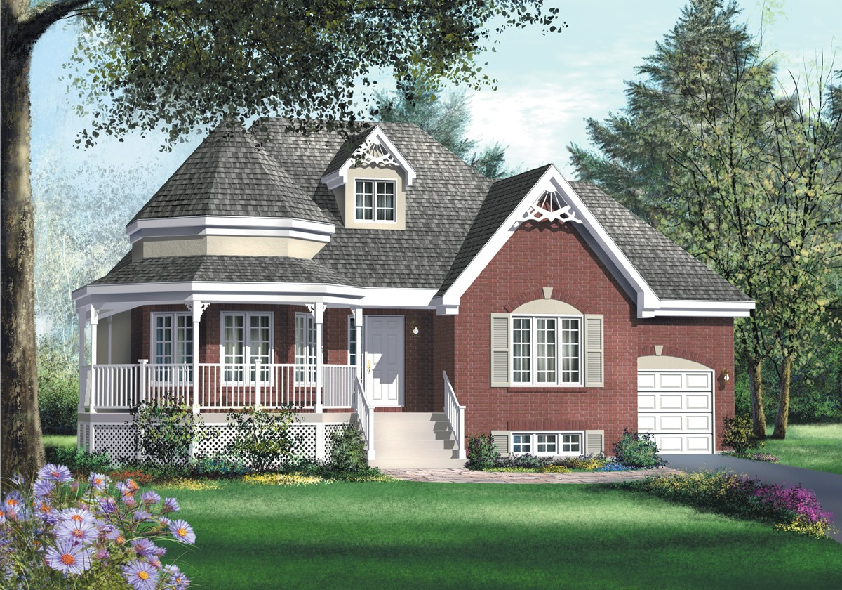 Country Victorian House Plan