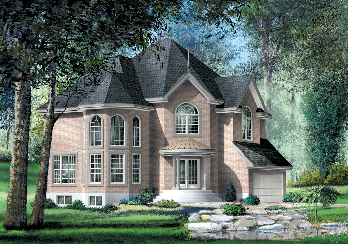 Manor Style House Plan 80451pm 2nd Floor Master Suite