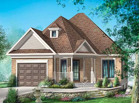 Simple One Story Home Plan 80624pm Architectural